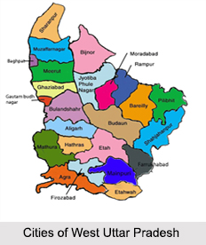 Cities of West Uttar Pradesh