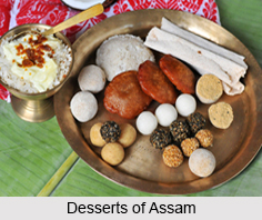 Desserts of Assam