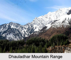 Dhauladhar Mountain Range, Indian Mountain Ranges