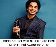 Filmfare Award for Best Debut Male, Filmfare Awards