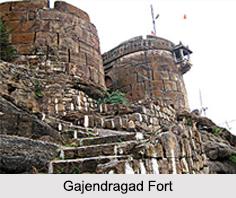 Gajendragarh Fort, Karnataka