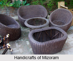 Handicrafts of Mizoram