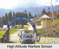 High Altitude Warfare School, Jammu and Kashmir