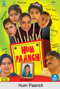 Hum Paanch, Indian TV Serial