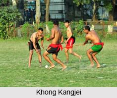 Khong Kangjei, Sports in Manipur
