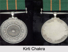 Kirti Chakra, Gallantry Award