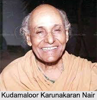 Kudamaloor Karunakaran Nair, Indian Dancer