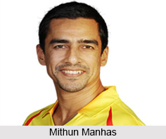 Mithun Manhas, Indian Cricket Player