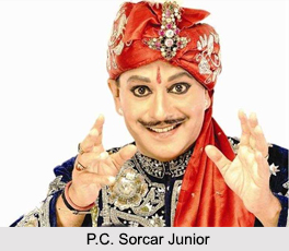 P.C. Sorcar Junior, Indian Magician