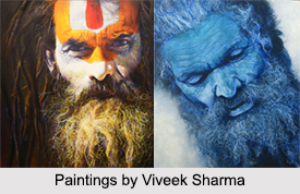 Viveek Sharma, Indian Painter