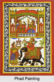 Phad Paintings, Rajasthan, Indian Paintings