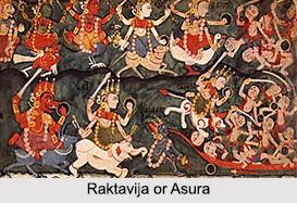 Raktavija, Asura, Demon