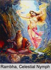 Rambha, Apsara, Celestial Nymph