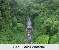 Sadu Chiru Waterfalls, Manipur