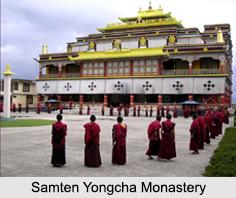 Samten Yongcha Monastery, Arunachal Pradesh