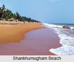 Shankhumugham Beach, Kerala