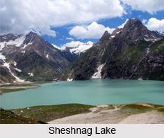 Sheshnag Lake, Amarnath, Jammu and Kashmir