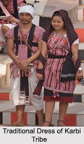 Traditional Dress of Karbi Tribe