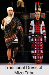 Traditional Dress of Mizo Tribe