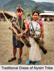 Traditional Dress of Nyishi Tribe