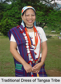 Traditional Dress of Tangsa Tribe