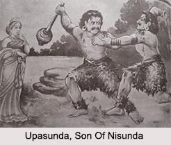 Upasunda, Son Of Nisunda