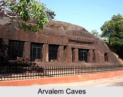 Arvalem Caves, Goa