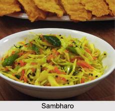 Sambharo, Gujarati Cuisine