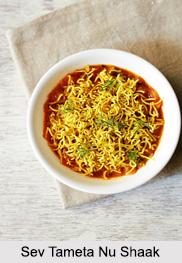 Sev Tameta Nu Shaak, Gujarati Cuisine