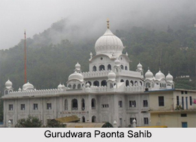 Gurudwara Paonta Sahib, Himachal Pradesh