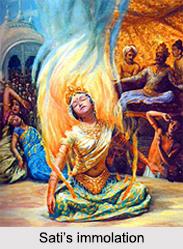 Sati, Wife of Lord Shiva