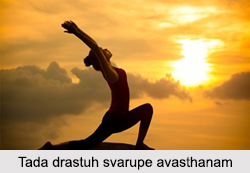 Tada drastuh svarupe avasthanam, Patanjali Yoga Sutra