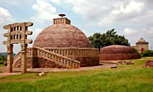 Stupa No 3 at Sanchi