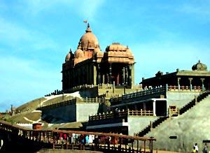 Swami Vivekananda Rock in Kanniyakumari, Tamil Nadu