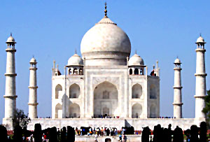 Sculpture of Taj Mahal