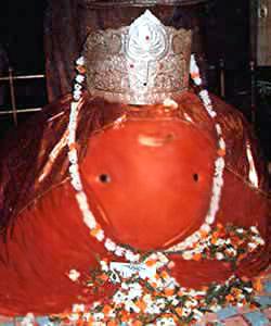 Ganesh Idol at Tekdi Ganapati Temple, Nagpur