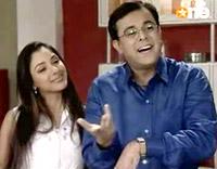 Sumeet Raghavan and Rupali Ganguli in Sarabhai Vs Sarabhai