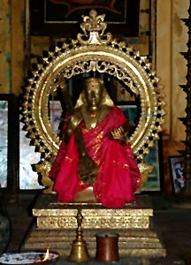 Thyagaraja idol  in Thanjavur,  Tamil Nadu