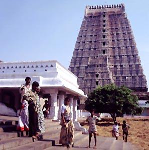 Arunachaleswara Temple in Tiruvannamalai, Tamil Nadu, South India