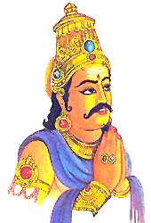 Vibhishana Leaves Lanka, Yuddha Kanda, Ramayana