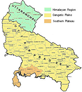 Geography of Uttar Pradesh