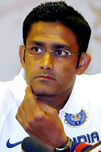 A Kumble, Indian Cricket