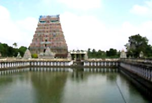 Adi Chidambaram temple  in Thanjavur District, Tamil Nadu