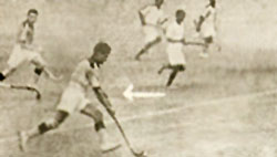 Ahmed Khan in 1936 Olympics