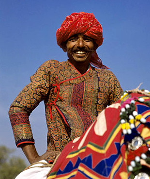 Angarkha, Costume for Rajasthani Men