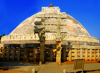 Sanchi stupa, Architecture In Central India