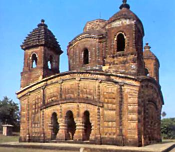 Shyama Raya temple, Architecture Of West Bengal