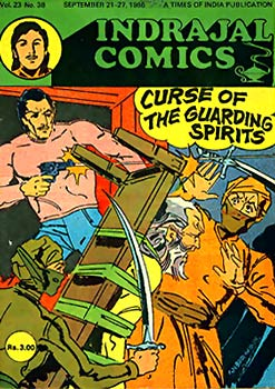 Indrajal Comic - Indian Comics During 60s and 70s