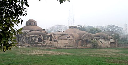 Jaunpur Fort Royal Bath Hamam - Architecture of Jaunpur and Chunar During Akbar