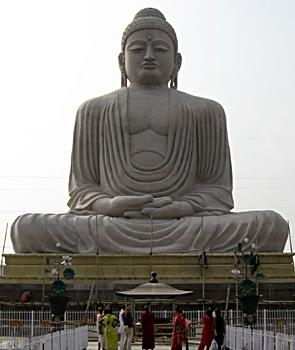 Lord Buddha at Bodh Gaya